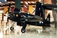 N9G @ AZO - XF8F-1D 90454 at the Kalamazoo Air Zoo - by Glenn E. Chatfield
