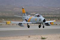 N186AM @ KLSV - Air Museum - Chino, California / 1952 North American/Sharpe F86F Sabre - Aviation Nation 2006