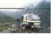 C-FVIH - Photo taken near Stewart BC, fall 1993 - by Peter Daubeny