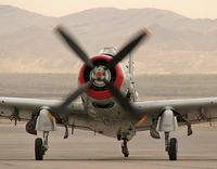 N965AD @ KLSV - Heritage Flight Museum - Eastsound, Washington / 1952 Douglas AD-4N(A) Skyraider - Aviation Nation 2006