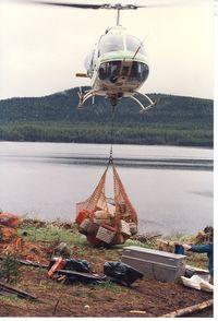 C-GORO - Photo taken cental BC, June, 1990 - by Peter Daubeny