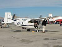 N11XA @ KLSV - Quartz Mountain Aerospace Inc. - Altus, Oklahoma / 2001 Luscombe 11E - Aviation Nation 2006 - by Brad Campbell