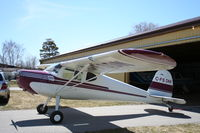 C-FSDM @ CYGD - Cessna 120 - by Mark Pasqualino