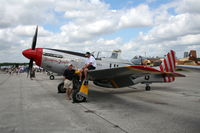 N151TF @ LAL - P-51 Tempus Fugit - by Florida Metal