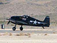 N1078Z @ KLSV - American Airpower Heritage Flying Museum - Midland, Texas / 1963 Grumman F-6F-5 Hellcat / Aviation Nation - 2006