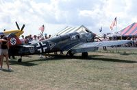 UNKNOWN @ OSH - Me. 108 at the EAA Fly In - does anyone know its registry? - by Glenn E. Chatfield