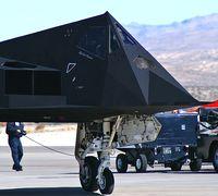 80-0787 @ KLSV - Lockheed / USAF / F-117A Nighthawk (cn A.4012) / Aviation Nation 2006 - by Brad Campbell
