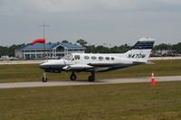 N47DM @ LAL - Cessna 414 - by Florida Metal