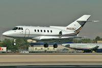 N423SJ @ KLAS - Corporate - Wells Fargo / British Aerospace BAE 125 Series 800A