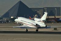 N100ED @ KLAS - Candybar Aviation - Kalispell, Montana / 2002 Dassault Aviation Mystere Falcon 900 - by Brad Campbell