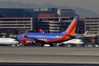 N201LV @ KLAS - Southwest Airlines - 'The Fred J. Jones' / 2005 Boeing 737-7H4 - by Brad Campbell
