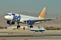 N465UA @ KLAS - Ted Airlines / 2000 Airbus Industrie A320-232 - by Brad Campbell