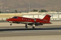 N452DA @ KLAS - Duncan Aviation Inc. - Lincoln, Nebraska / 1981 Gates Learjet Corp. 35A