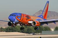 N224WN @ KLAS - Southwest Airlines - 'Slam Dunk' / 2005 Boeing 737-7H4