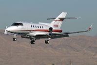 N800EC @ KLAS - Energy Corporation of America - Denver, Colorado / British Aerospace BAE 125 Series 800A