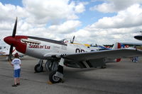 N351DM @ LAL - P-51 Sizzlin Liz