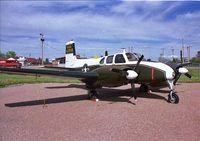 56-3708 @ RCA - Ellsworth Beech L-23D Seminole 56-3708 - by Timothy Aanerud