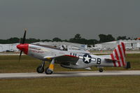 N151TF @ LAL - P-51D - by Florida Metal