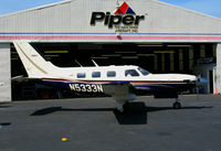 N5333N @ PAO - Meridian (titles) 2004 Piper PA-46-500TP turbine turning @ Palo Alto, CA