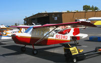 N59WD @ PAO - Brand new 2007 American Champion Aircraft 7GCBC Explorer @ Palo Alto, CA