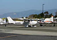 N14669 @ PAO - Fly America 2007 factory fresh Cessna 172S taxying @ Palo Alto, CA