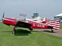 G-AKIN @ EGBK - Miles M.38 Messenger 2A - by Robert Beaver