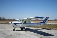 C-GCJP @ CYZR - Cessna 150 - by Mark Pasqualino