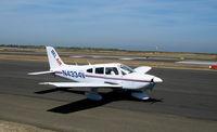 N4334V @ SQL - Bel Air (titles) Piper PA-28-181 @ San Carlos, CA - by Steve Nation