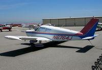 N6764J @ SQL - 1968 Piper PA-28-140 @ San Carlos, CA