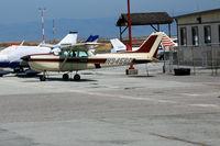 N9456D @ SQL - 2000 Cessna 172RG in nice paint scheme @ San Carlos, CA