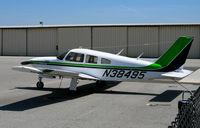 N38495 @ SQL - Angel Planes 1977 Piper PA-28R-201T @ San Carlos, CA