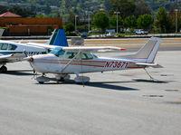 N73671 @ SQL - 1976 Cessna 172N visiting from Tracy @ San Carlos, CA