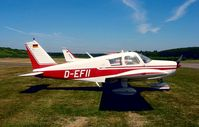 D-EFII @ EDTF - Piper PA-28-140 Cherokee - by J. Thoma