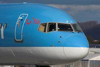 G-BYAN @ LOWS - 757 nose. - by Stefan Rockenbauer