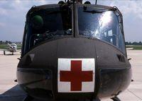 69-15926 @ DPA - UH-1V medivac chopper - by Glenn E. Chatfield