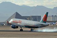 N628AW @ KLAS - America West Airlines / 1989 Airbus Industrie A320-231