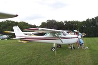 N51287 @ IA27 - C150 at the Antique Fly in Blakesburg Iowa - by Floyd Taber