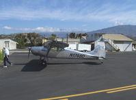 N1748D @ SZP - 1951 Cessna 170A, Continental C145 145 Hp, refueling - by Doug Robertson
