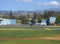N1748D @ SZP - 1951 Cessna 170A, Continental C145 145 Hp, taxi to Rwy 04 - by Doug Robertson