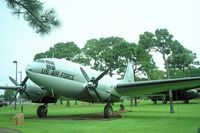 44-77424 @ HRT - Hurlburt Field Park, Curtis-Wright C-46D Commando, 44-77424 - by Timothy Aanerud