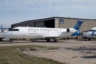 C-FNJW @ CYYC - Indus Air Canadair Regionaljet - by Yakfreak - VAP