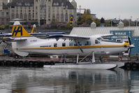 C-FIUZ @ CYWH - Harbour Air Dash 3 Turbo Otter