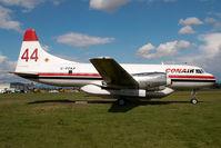 C-FFKF @ CYXX - Conair Convair 580