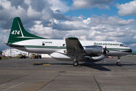 C-GYSK @ CYXX - Saskatchewan Convair 580
