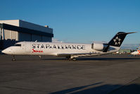 C-GQJA @ CYVR - Jazz Canadair Regionaljet in Star Alliance colors - by Yakfreak - VAP