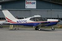 N377C @ STA - Fuel stop at small Danish airport - by Thorbjørn Brunander Sund - Danish Aviation Photo