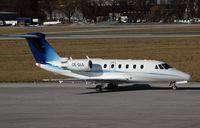 OE-GLS @ INN - Cessna 650 Citation VII - by Volker Hilpert