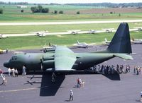 56-0500 @ ARR - C-130A 56-0500 from Illinois A.F. Reserve out of ORD - by Glenn E. Chatfield