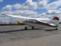 C-GWLG @ YHF - A short rest at Hearst, ON during the trip to its new home at 3 Wing Bagotville. - by Danie Lachance