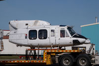 UNKNOWN @ CYYC - bell 212 on a trailer